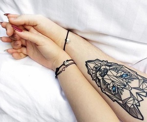 tattoo, boy, and couple image