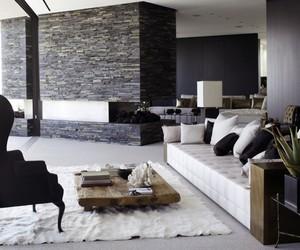 black, house, and interior design image