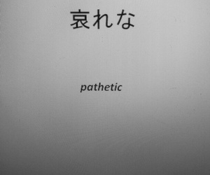pathetic, grunge, and quotes image