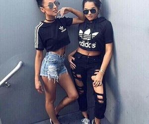adidas, boy, and friend image
