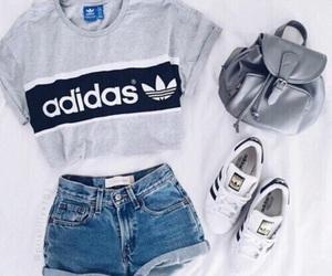 adidas, boy, and girl image