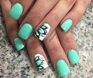nails, diy, and fashion image