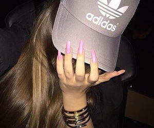 adidas, girls, and hair image
