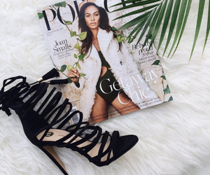 heels, magazine, and shoes image