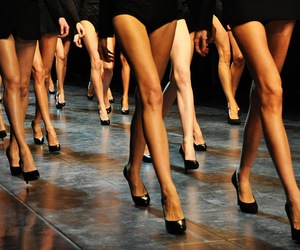 legs, model, and runway image