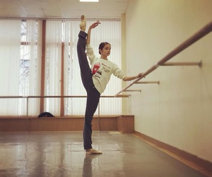 ballet, flexibility, and love image