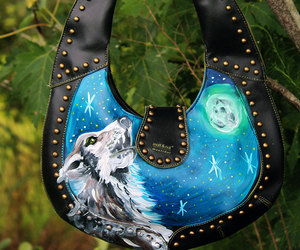 etsy, wolf howling, and native american image