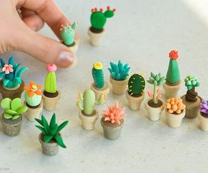 cactus, cute, and plants image