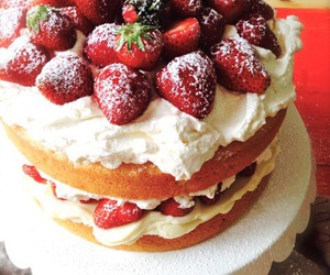 cake, food, and postre image