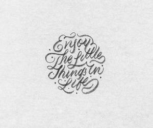 lettering, quotes, and life image