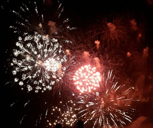 black, firework, and fitness image