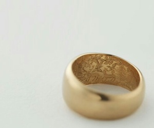 gold, ring, and jewellery image
