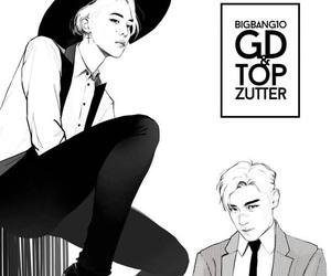 kpop, fanart kpop, and bigbang image