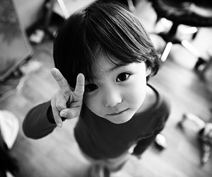 baby, korean, and asian image