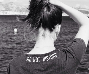 disturb, do, and do not disturb image