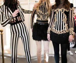 model, fashion, and Balmain image