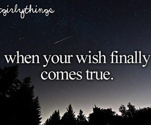 wish, stars, and quote image
