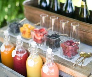champagne, FRUiTS, and juice bar image