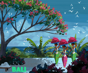 art and bali image