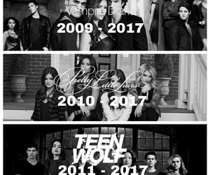 teen wolf, pretty little liars, and tvd image
