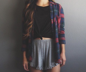 brunette, cool, and fashion image
