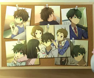 hyouka, anime, and kawaii image