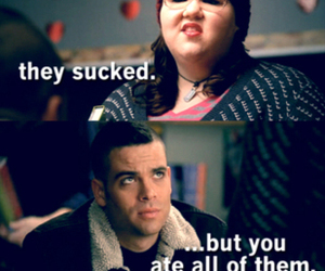 glee, funny, and candy image