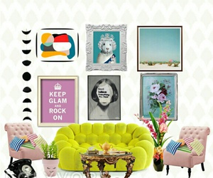 art, home, and decoration image