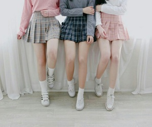 grunge, outfit inspirations, and skirts image