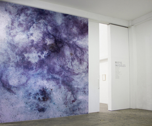 art, purple, and space image