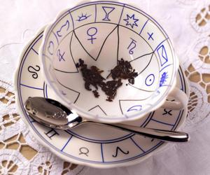 divination and tea leaf reading image