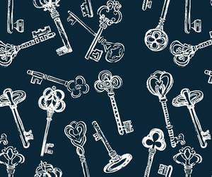 background, keys, and pattern image