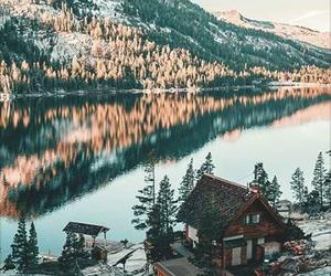 nature, lake, and mountains image