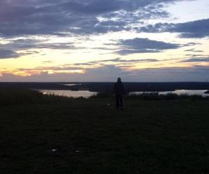 stockholm, sunset, and sverige image