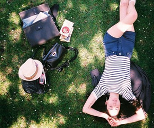 girl, relax, and photography image