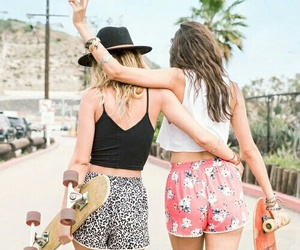 amigas, bff, and friendship image