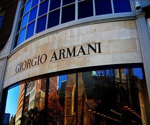 Giorgio Armani, Armani, and luxury image