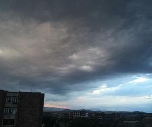 dark, rainy, and sky image