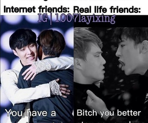 exo, kpop, and kpop funny image