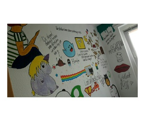 drawings, room, and unicorn image