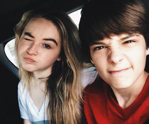corey fogelmanis, sabrina carpenter, and girl meets world image
