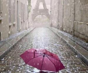 paris rain image