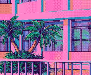 pixel, pastel, and pink image