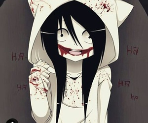 jeff the killer, killer, and creepypasta image