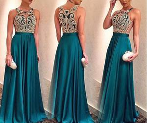 dress, vestido, and party image