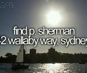 nemo, Sydney, and bucket list image