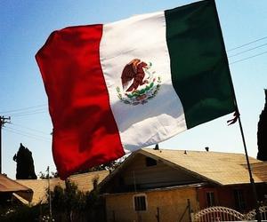 chicano, flag, and hood image