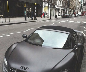 car, black, and audi image