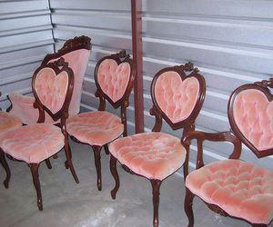 chairs and heart image