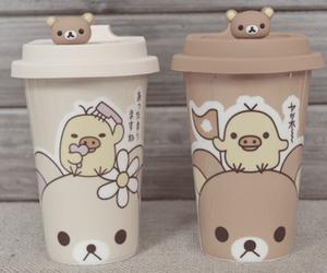 kawaii, rilakkuma, and bear image
